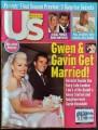 GWEN STEFANI Us Weekly (9/30/02) USA Magazine
