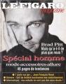 BRAD PITT Le Figaro (3/22/97) FRANCE Magazine