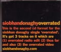 SIOBHAN DONAGHY Overrated UK CD5 Part 2
