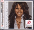 JANET JACKSON All Nite (Don't Stop) JAPAN CD5 w/4 Tracks