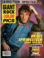 BRUCE SPRINGSTEEN Giant Rock Color Pics USA Magazine
