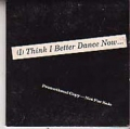 ART OF NOISE Kiss (I Think I Better Dance Now) USA CD5 Promo w/3 Mixes