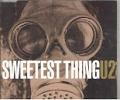 U2 Sweetest Thing UK CD5 w/Live Tracks