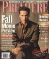 KEANU REEVES Premiere (9/97) USA Magazine