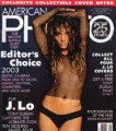 JENNIFER LOPEZ American Photo (7-8/03)(black) USA Magazine