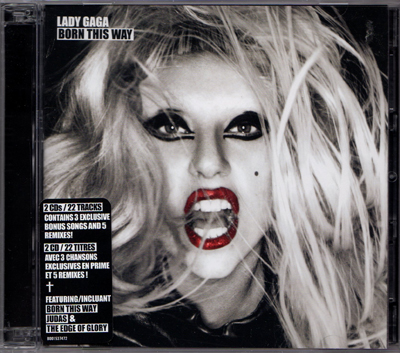 lady gaga born this way deluxe album art. 2010 lady gaga born this way