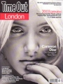 CAMERON DIAZ Time Out London (12/31/02-1/8/03) UK Magazine