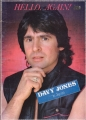 DAVY JONES April 1981 JAPAN Tour Program