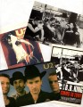 U2 Set Of 4 EU Postcards (A)