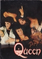 QUEEN 1975 JAPAN Tour Program