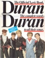 DURAN DURAN The Official Lyric Book UK Picture Book