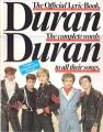 DURAN DURAN The Official Lyric Book UK Picture Book