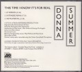 DONNA SUMMER This Time I Know It's For Real USA CD5 Promo