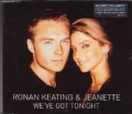 RONAN KEATING & JEANETTE We've Got Tonight GERMANY CD5