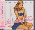 CHRISTINA MILIAN It's About Time JAPAN CD w/Bonus Tracks