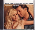 RICKY MARTIN & CHRISTINA AGUILERA Nobody Wants To Be Lonely USA CD5 Promo w/2-Trk