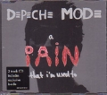 DEPECHE MODE A Pain That I'm Used To EU CD5