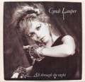CYNDI LAUPER All Through The Night USA 7