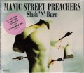 MANIC STREET PREACHERS Slash 'N' Burn UK CD5 Limited Edition Gold Disc