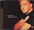 BARRY MANILOW Sometimes When We Touch USA CD5 Promo