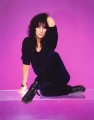 CHER Cher with purple background USA Photo