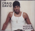 CRAIG DAVID Hidden Agenda UK CD5 w/Live Track & Video