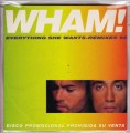 WHAM Everything She Wants Remix '98 SPAIN CD5 Promo