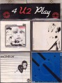 U2 4 U2 Play IRELAND Set Of 4 7