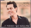 MARC ANTHONY I Need To Know BRAZIL CD5 Promo w/8 Versions