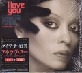 DIANA ROSS I Love You JAPAN CD+DVD (NTSC)