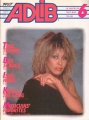 TINA TURNER Adlib (6/85) JAPAN Magazine