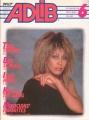 TINA TURNER Adlib (6/85) JAPAN Magazine