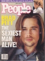 BRAD PITT People (1/30/95) USA Magazine