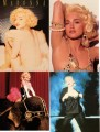 MADONNA Blond Ambition Set Of 4 USA Postcards Set #1