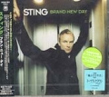 STING Brand New Day JAPAN CD w/Bonus Track!!