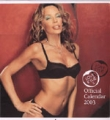 KYLIE MINOGUE 2003 USA Calendar