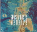 GUNS N' ROSES Yersterdays UK CD5 w/ 4 Tracks