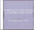 WHITNEY HOUSTON & GEORGE MICHAEL If I Told You That USA CD5 Promo Only