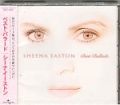 SHEENA EASTON Best Ballads JAPAN CD w/Compilation