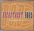 BACKSTREET BOYS Anywhere For You UK CD5 w/Spanish Version, Special Backstreet Boys Valentine's Message & more