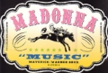 MADONNA Music USA Promo Shaped Cardboard Display