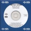 BRITNEY SPEARS Break The Ice Club Remixes USA CD5 Promo