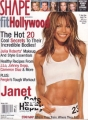 JANET JACKSON Shape (Winter/01) USA Magazine