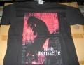 ALANIS MORISSETTE 1998 USA Official Tour T Shirt