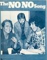 RINGO STARR The No No Song USA Sheet Music