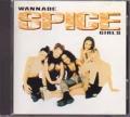 SPICE GIRLS Wannabe USA CD5 w/2 Tracks