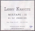 LENNY KRAVITZ Mixtape II USA CD5 Promo