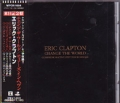 ERIC CLAPTON Change The World Commemorative 1997 Tour JAPAN CD5