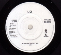 U2 A Day Without Me UK 7