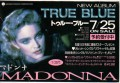 MADONNA True Blue JAPAN Promo Postcard